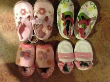 Lot of 4 Umi Girls Baby Shoe sz 4circa and 2 pair sz 3 -6-12 month EUC