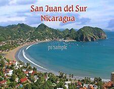 Nicaragua - SAN JUAN DEL SUR - Travel Souvenir Flexible Fridge MAGNET