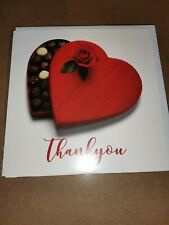 valentines card unisex (thank you) 1725