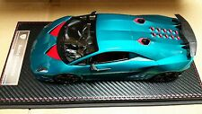 FRONTIART KYOSHO Lamborghini SESTO ELEMENT  (Transparent blue) 1/18  F009-11