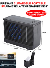 PROMO! PUISSANT CLIMATISEUR 12V MONTAGE 1MN REFROIDIT -8° ! VOITURE CAMPING-CAR