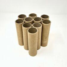 "10 New Heavy Duty Cardboard Paper Art Tubes 3/"" Long Art//Crafting//Model Trains"