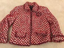 Escada Skirt And Jacket in seasonal red