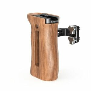 SmallRig Universal Side Wooden Handle Grip for DSLR Camera Cage  HSN2093