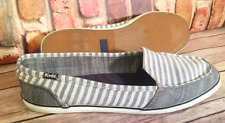 Keds Women Casual Boat Slip On Shoes Striped Flats Sz 9