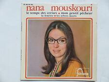 NANA MOUSKOURI Le temps des cerises 460245 ME Pochette avec la photo encadrée