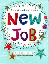 Congratulations On Your New Job, Excellent Value Greeting Card