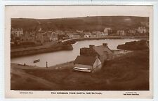 THE HARBOUR FROM NORTH, PORTPATRICK: Wigtownshire postcard (C13707)