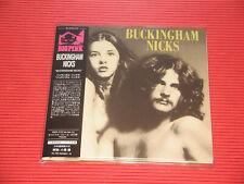 BUCKINGHAM NICKS Buckingham Nicks (1973) with Bonus Tracks JAPAN MINI LP CD