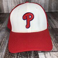 PHILADELPHIA PHILLIES HAT CAP WHITE RED 39THIRTY NEW ERA SIZE S/M MLB BASEBALL