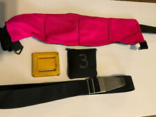 Scuba Diving Sea Pearl Pink Weight Belt Weight Pouch Lead Lot