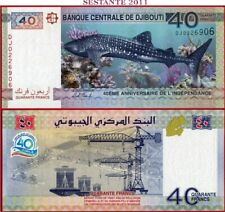 DJIBOUTI - 40 FRANCS 2017 - Anniversary of Indipendence -  P New  - FDS / UNC