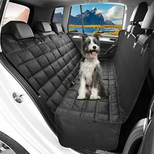 OMORC Dog Car Seat Cover Waterproof & Nonslip Back Seat Cover for Dogs with Side