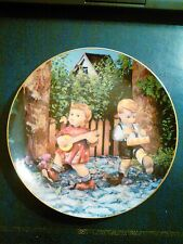"M.I. Hummel ""Private Parade"" Little Companions  Plate-Danbury"