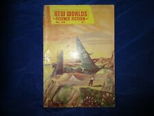 "New Worlds Science Fiction #55 January 1957 3rd JG Ballard Story ""Build Up"" VG-"