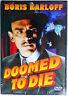 Doomed To Die Starring Boris Karloff DVD New / Sealed 2002