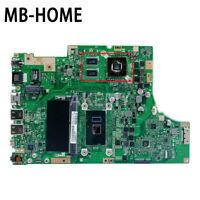 For Asus TP501UQK TP501UQ TP501UB TP501UJ TP501U Motherboard I5-7200U 4G-RAM