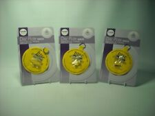 """THREE LARGE 4"""" ADHESIVE DISC WALL HANGER +HOOK Maximum Plate Size 12"""" 30cm 2.5KG"""