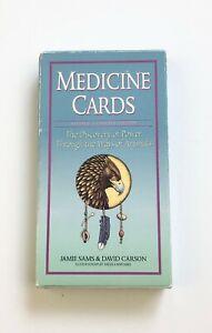 Medicine Cards by Jamie Sams & David Carson, Revised Expanded Edition No Book