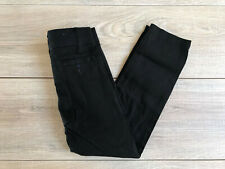 "4 U.S. Polo Assn. Boys' School Uniform Pants Slim Skinny Size 8 22""Wx25""L Black"
