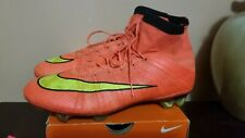 NIKE MERCURIAL VAPOR SUPERFLY 4 IV FG SOCCER CLEATS BOOTS 8.5 US 7.5 UK