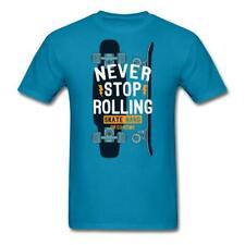 Skateboard Skate Hard Funny Tee Men's T-Shirt