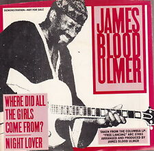 "james blood ulmer where did all the girls come from 7""  promo wlp"