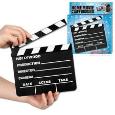 New Hollywood Movie Slate Black Wood Board Clapperboard Slate Accoutrements Toy