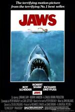 Jaws Movie Sheet Poster New 24x36 inch *Fast Shipping* 1975