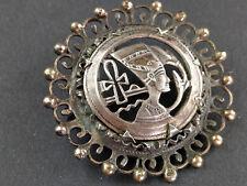 Anhänger Brosche 800er Silber Nofretete egypt Nefertiti brooch pendant