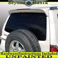 Mitsubishi Montero Spoiler 2001-2006 Factory Style Rear Wing W/Light Unpainted
