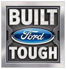 """FORD """"Built Ford Tough"""" Boys Mens Wall Graphic Vinyl  Decal Sticker Man Cave"""