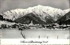 Waidring Tirol Österreich AK & Briefmarken 1964 Skidorf Gesamansicht im Winter