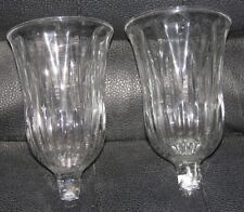 """2 Home Interiors Homco Chantilly Votive Candle Sconce Cups 4"""""""
