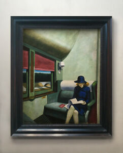 Edward Hopper Painting - oil on canvas