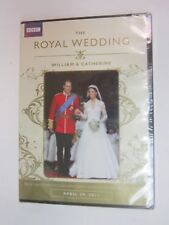 The Royal Wedding: William  Catherine (DVD, 2011)- BRAND NEW  SEALED  FREE SHIPP