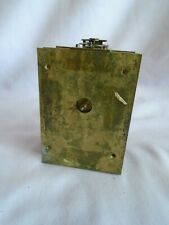 ANTIQUE FRENCH CARRIAGE CLOCK MOVEMENT WITH ESCAPEMENT IN GOOD WORKING ORDER