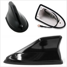 Good Quality Black ABS Autos Strong Signal Roof Shark Fin Antenna Aerials AM/FM