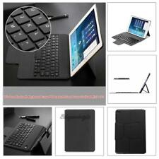 Leather Ultra thin Wireless Bluetooth 3.0 Keyboard Bracket Stand for iPad Mini 4