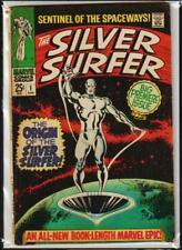 SILVER SURFER # 1 ORIGIN & 1ST SOLO SILVER SURFER KEY 1968 L@@K GOOD/VERY GOOD