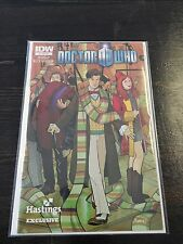 Doctor Who Hastings Exclusive Cover Comic # 1 Eleventh Dr Matt Smith Amy & Rory