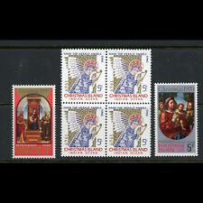 CHRISTMAS ISLANDS 1969-70 Christmas. SG 32 (Block of 4) SG 33-34. MNH. (W0872)