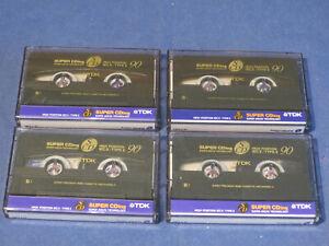 MC Leerkassette Audio – 4 x TDK SCD 90 – NEU, #4