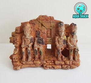 Ancient Egyptian Aquarium Ornament - Fish Tank Decoration Hiding Cave Ruin Aztec