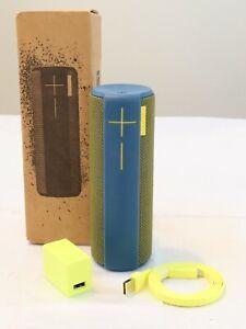 ✅ Logitech UE Ultimate Ears Boom Wireless Bluetooth Speaker - Blue and Yellow ✅