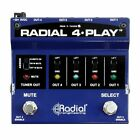 Radial 4-Play Active DI Box with Four Selectable Outputs