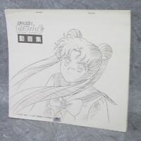 SAILOR MOON Dougashu Art Works Illustration Book Model Sheet MV*