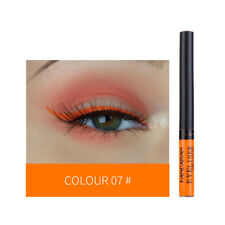 12 Color Waterproof Sparkling Glitter Liquid Eyeliner Eye Liner Party Makeup Lot
