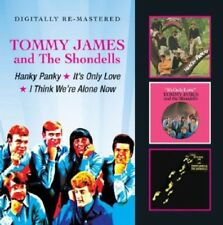 Tommy James - Hanky Panky / It's Only Love / I Think We're Alone [New CD] UK - I