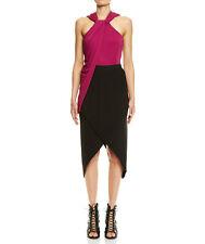 BNWT WILLOW trapano drape top cerise pink sleeveless draped kit 10 RRP $295
